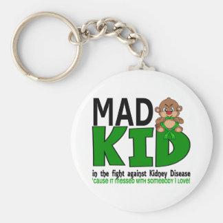 Mad Kid Kidney Disease Keychain
