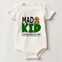 Mad Kid Liver Cancer Baby Bodysuit