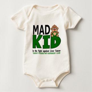 Mad Kid Liver Cancer Baby Bodysuit