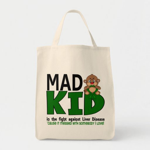 Mad Kid Liver Disease Tote Bag