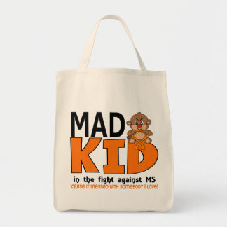 Mad Kid MS Grocery Tote Bag