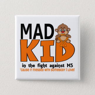 Mad Kid MS Pinback Button
