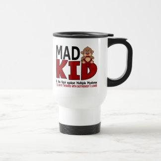 Mad Kid Multiple Myeloma 15 Oz Stainless Steel Travel Mug