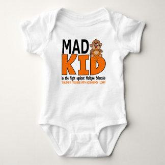 Mad Kid Multiple Sclerosis Baby Bodysuit