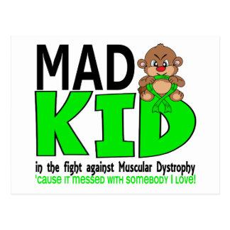 Mad Kid Muscular Dystrophy Postcard
