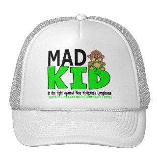 Mad Kid Non-Hodgkins Lymphoma Hats