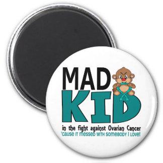 Mad Kid Ovarian Cancer Refrigerator Magnets