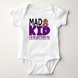 Mad Kid Pancreatic Cancer Baby Bodysuit