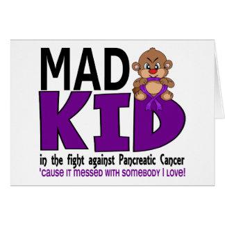 Mad Kid Pancreatic Cancer Card
