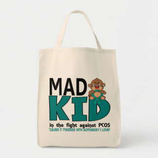 Mad Kid PCOS Tote Bag