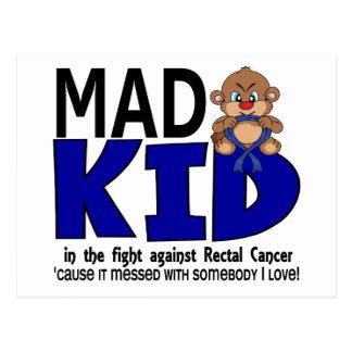 Mad Kid Rectal Cancer Postcard
