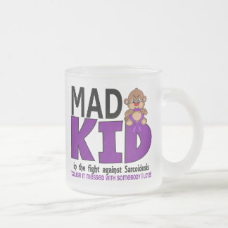 Mad Kid Sarcoidosis Frosted Glass Coffee Mug