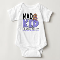 Mad Kid Stomach Cancer Baby Bodysuit