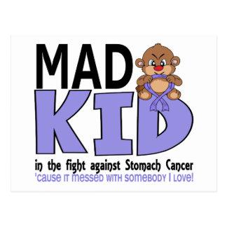 Mad Kid Stomach Cancer Postcard