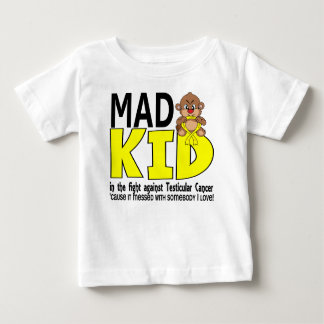 Mad Kid Testicular Cancer Baby T-Shirt