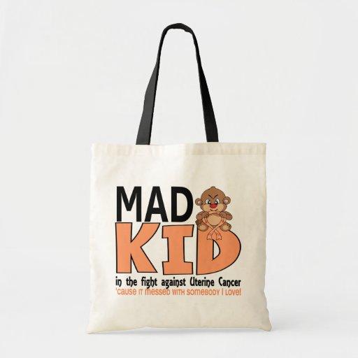 Mad Kid Uterine Cancer Budget Tote Bag