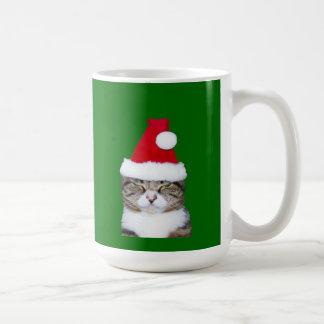 Mad Kitty Christmas Mug, Kitty   Classic White Coffee Mug