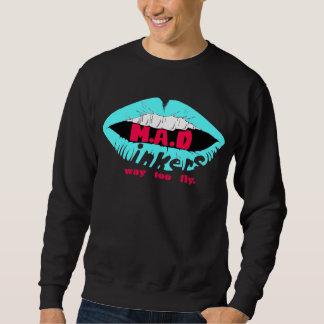 Mad Lips Blu, Sweatshirt