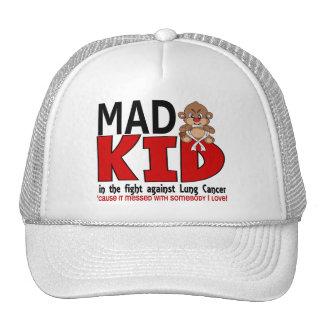 Mad Lung Cancer Trucker Hat