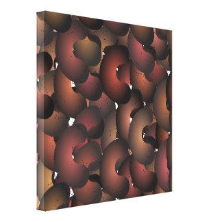 Mad Macaroni Wrapped Canvas