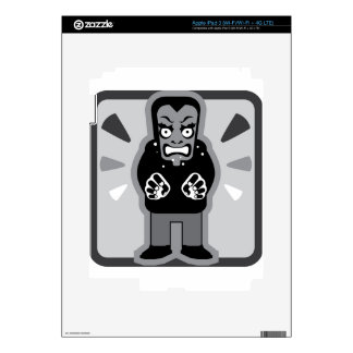 Mad man icon decal for iPad 3