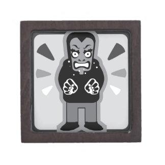 Mad man icon gift box
