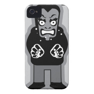 Mad man icon iPhone 4 case