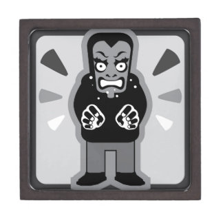 Mad man icon jewelry box