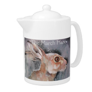 Mad March Hare. Rabbits