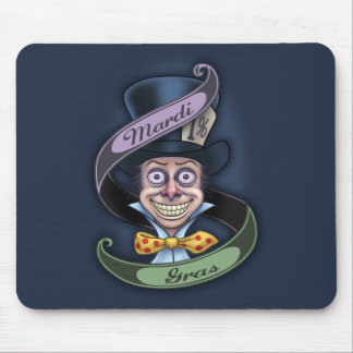 Mad Mardi Gras Mouse Pad
