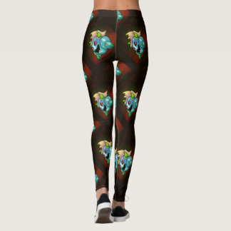 MAD MAX ROBOT FUNNY CARTOON LEGGINGS