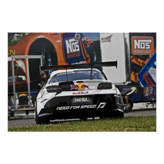 Mad Mike's RX-8 Tail, Photo By: Joe Dantone Poster