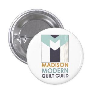 Mad Mod Quilt Guild Flair Pinback Button