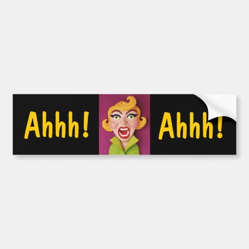 Mad Mom Bumper Stickers
