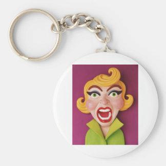 Mad Mom Keychain