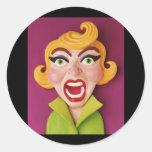 Mad Mom Sticker
