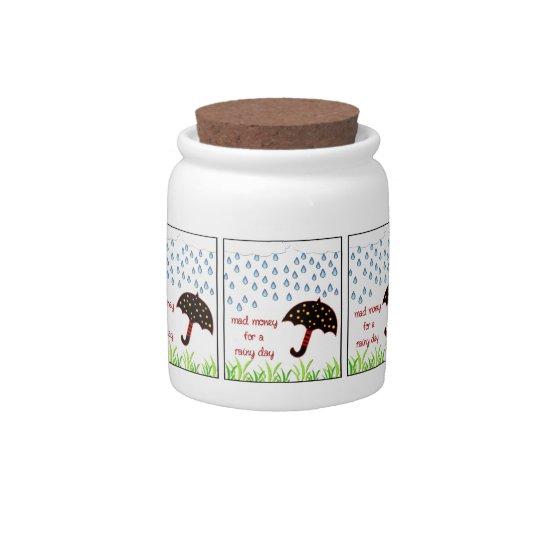 mad money for a rainy day jar