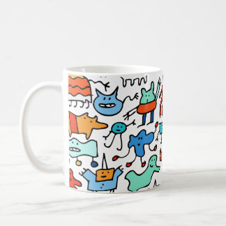 Mad Monster Friends Mug