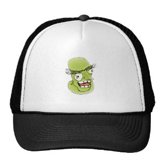 Mad Monster Man with Evil Expression Trucker Hat