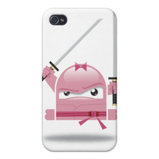 Mad ninja skills iphone case covers for iPhone 4