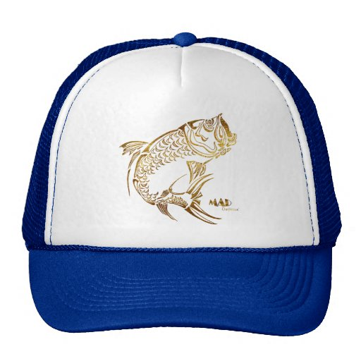 MAD Outfitters Fishing Fish Ocean Tarpon Hat Cap
