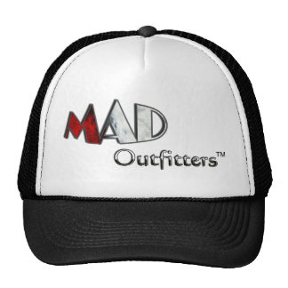 MAD Outfitters Red & Gray Logo Trucker Hat