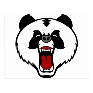 mad panda bear.png postcard