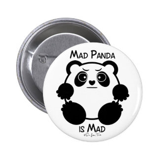 Mad Panda 2 Inch Round Button