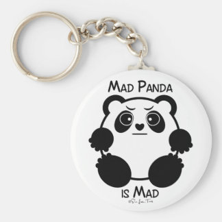 Mad Panda Keychain