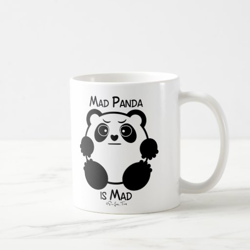 Mad Panda Coffee Mug