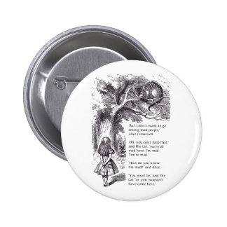 Mad People 2 Inch Round Button
