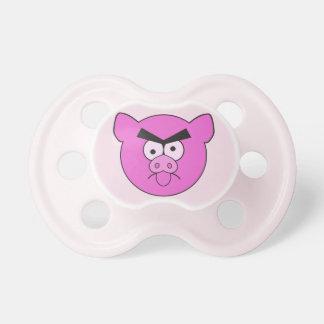Mad Pig custom pacifier