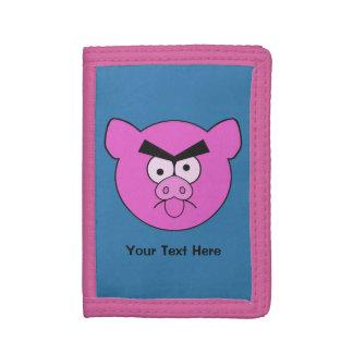 Mad Pig custom wallets