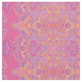 Mad pink marble 1 fabric
